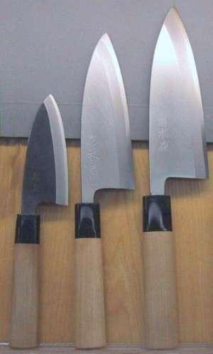 Cuchillos japoneses tipo hocho