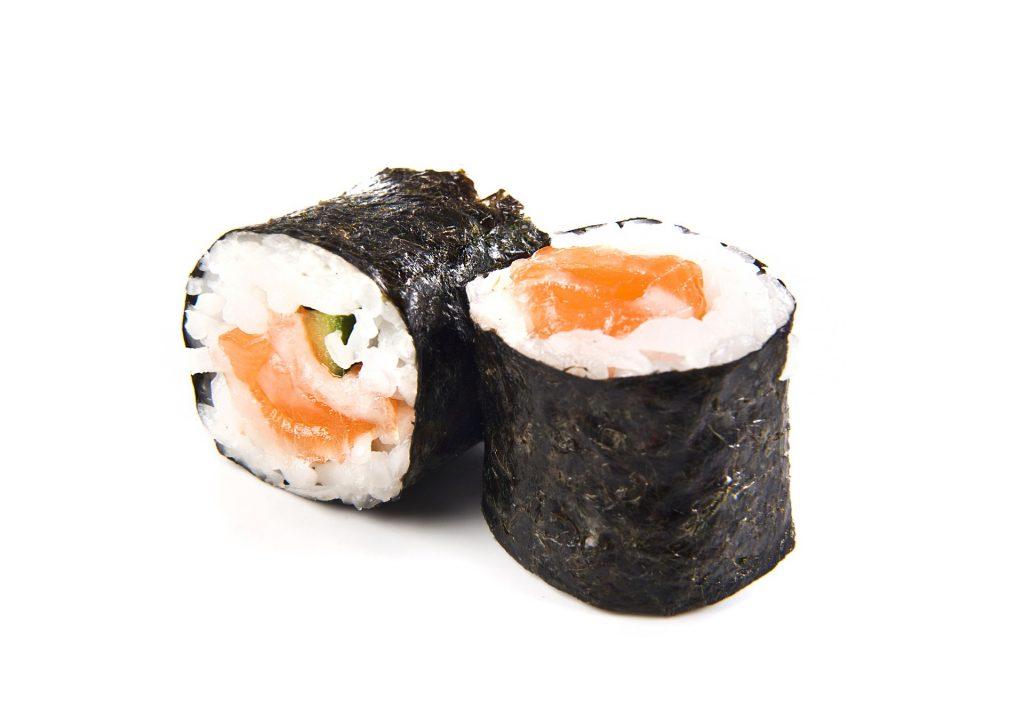 Hosomaki de salmón