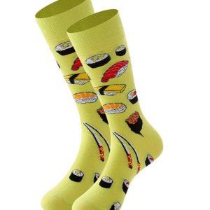 calcetines estampados sushi